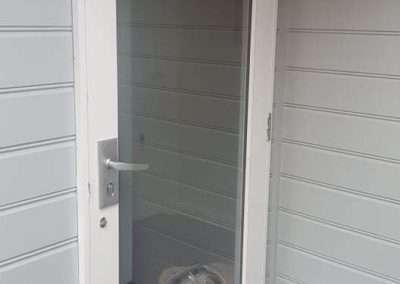 Melbourne Emergency Glass Full Entry Door Panel